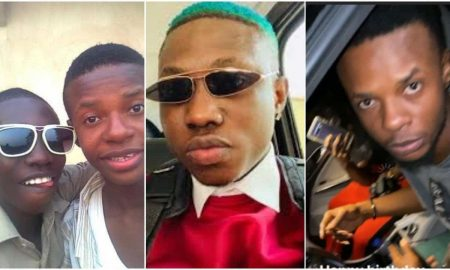 Zlatan Ibile gifts his friend a Benz