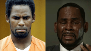 Photo of R.Kelly branded 'a danger to the community' as judge shuts down his third attempt to get out of jail over Covid-19 fears
