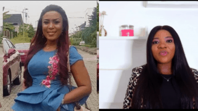 Photo of Linda Ikeji's sister, Sandra sparks pregnancy speculation as she appears in new video