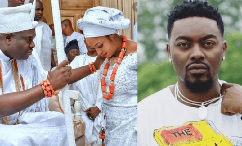 Tayo Faniran and Ooni of Ife and wife