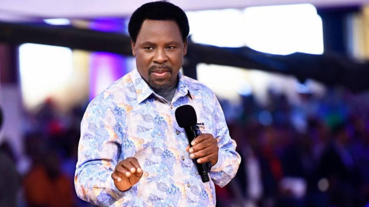 Photo of COVID-19: What must happen before I reopen my church – Prophet TB Joshua