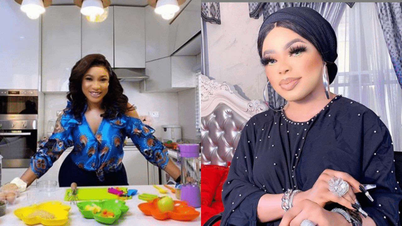 Tonto Dikeh and Bobrisky