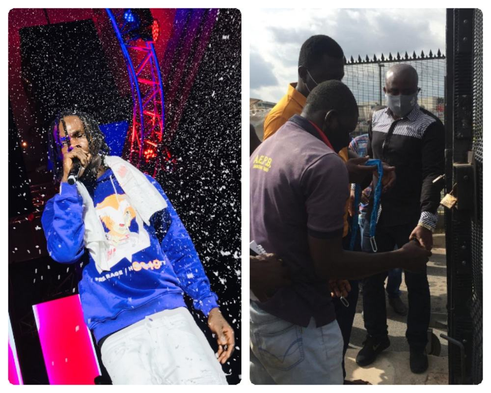 Photo of Jabi Lake Mall sealed indefinitely after Naira Marley holds concert with hundreds of people in attendance amidst COVID-19