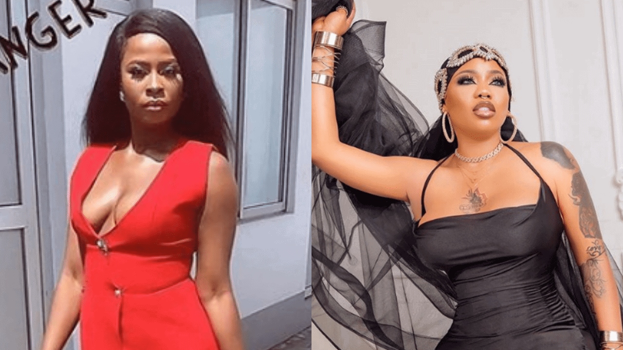 Photo of Toyin Lawani reaches out to Ella after she was 'disgraced' at the BBNaija Reunion