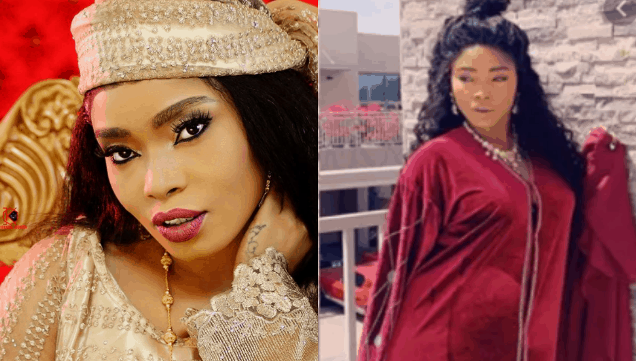 "Photo of ""I'm amazed at God's creation"", Halima Abubakar gushes over motherhood"