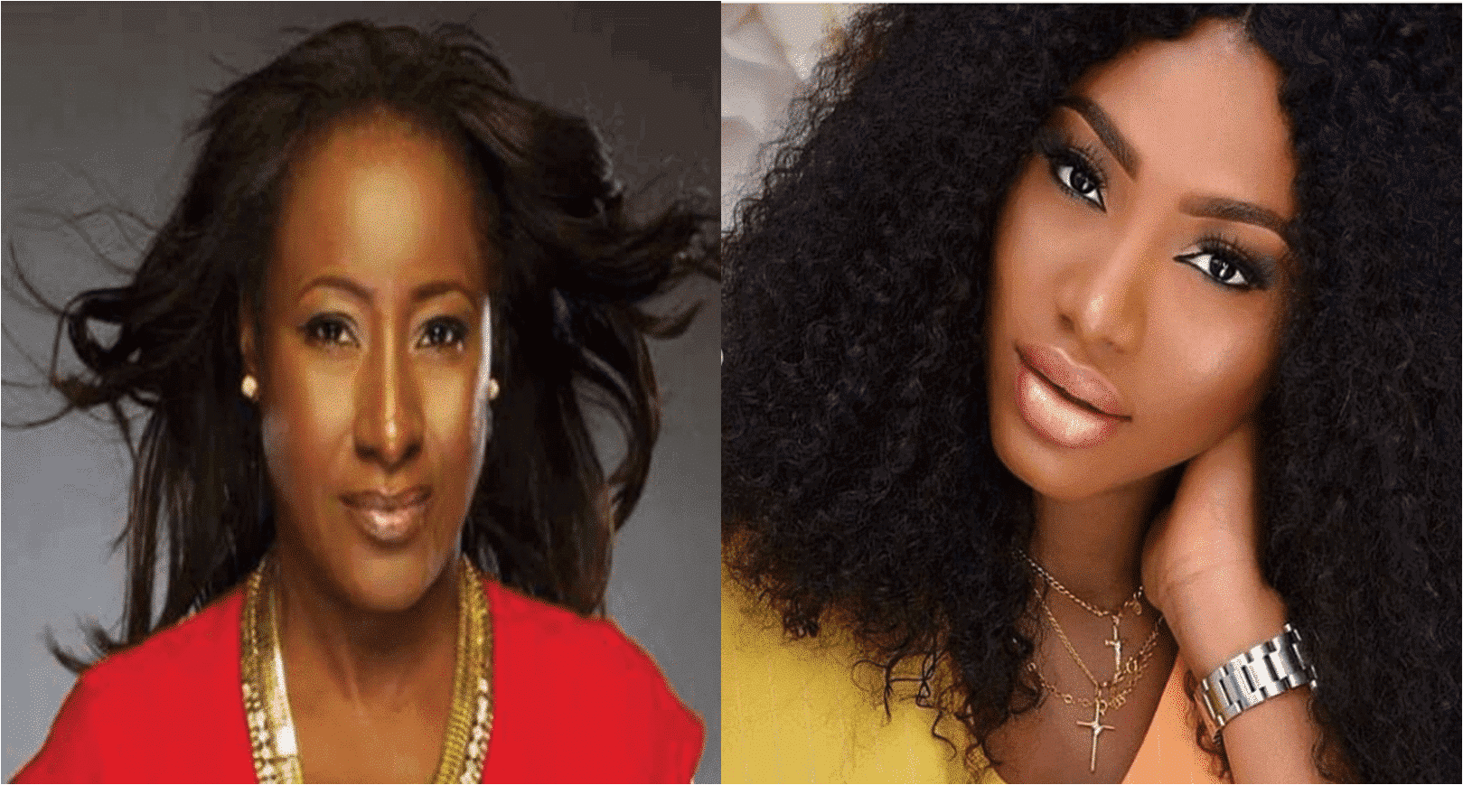 Photo of Drama as Ireti Doyle's daughter scams young ladies