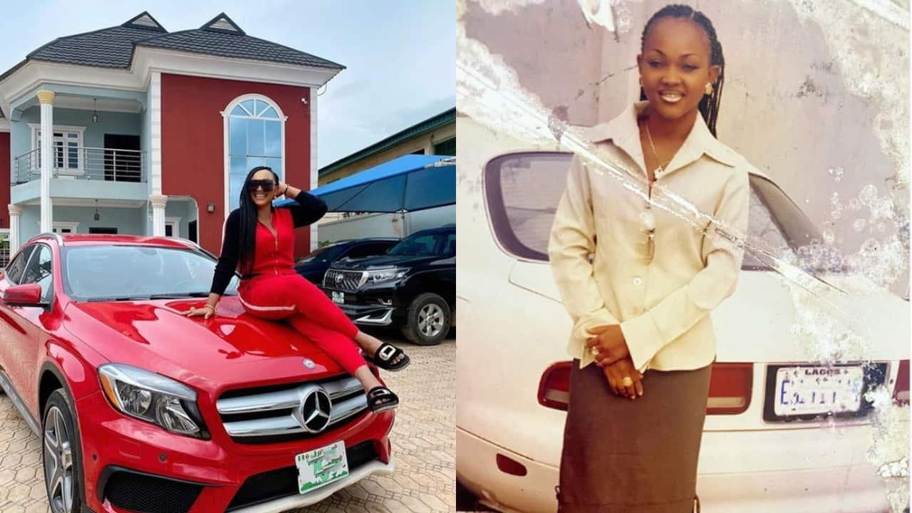 Mercy Aigbe shares throwback picture