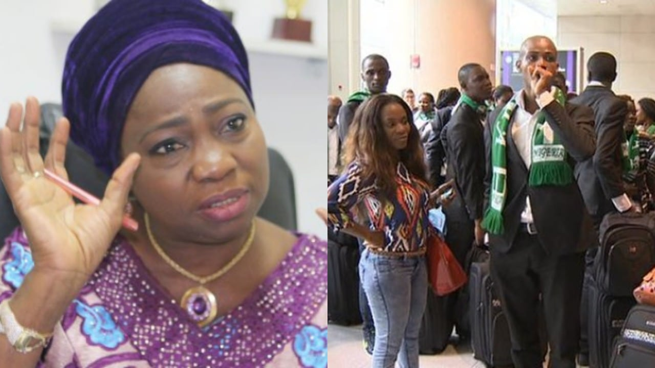Photo of 167 Nigerians stranded in South Africa have arrived – Abike Dabiri | Video