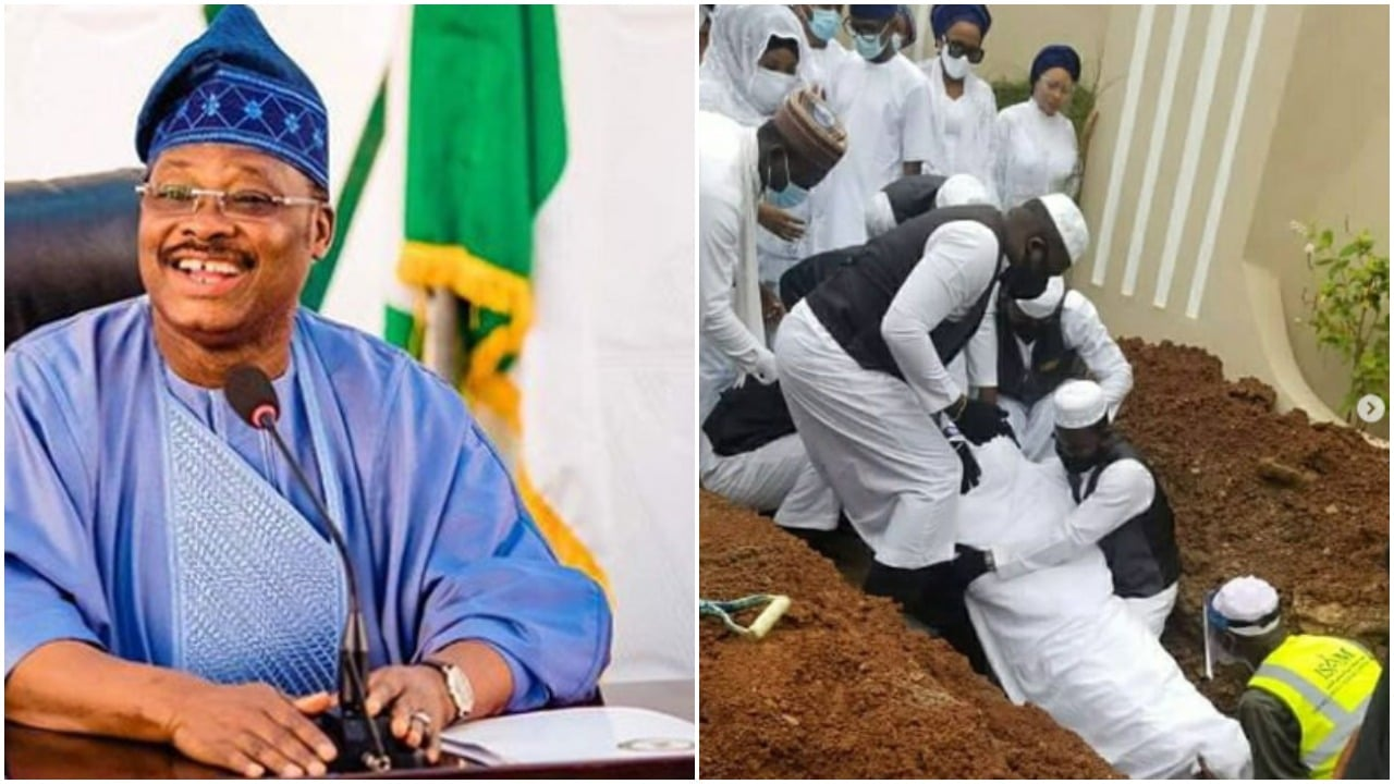 Photo of Photos from the 40th day fidau prayers for former Oyo state governor, Abiola Ajimobi