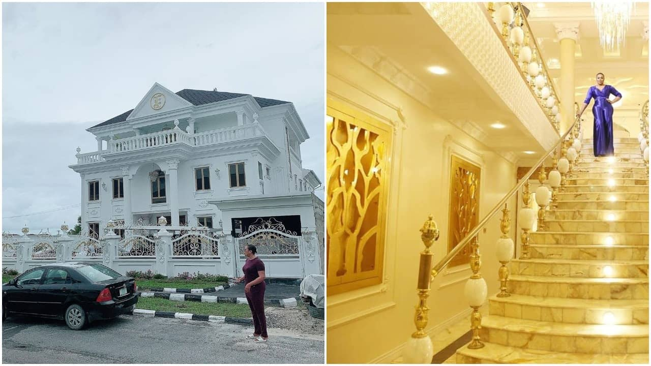 Ehi Ogbegbor gifts herself 7bedroom mansion as birthday gift