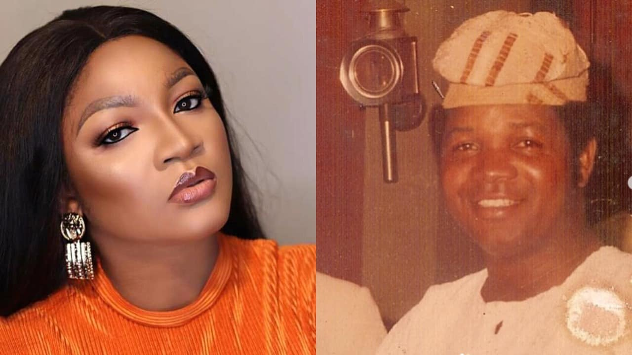 Omotola Jalade narrates how her father died