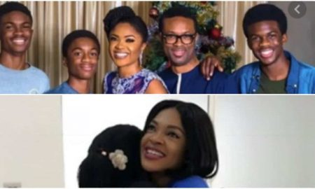 Omoni Oboli, a mum of three boys wanted a baby girl and Ibidunni Ighodalo wanted to help her