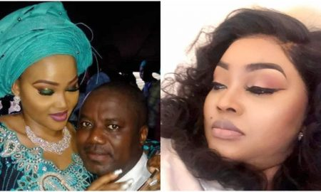 Mercy Aigbe shades her estranged husband on fathers day