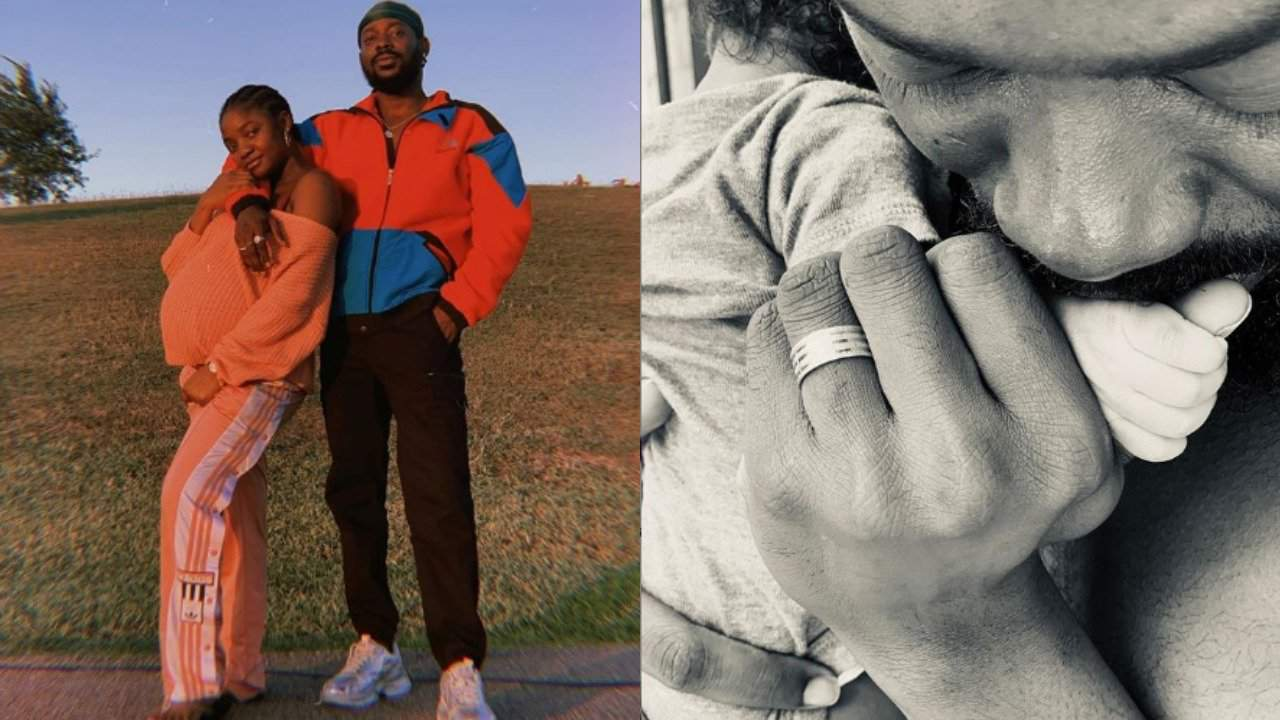 Simi and Adekunle Gold welcome first child