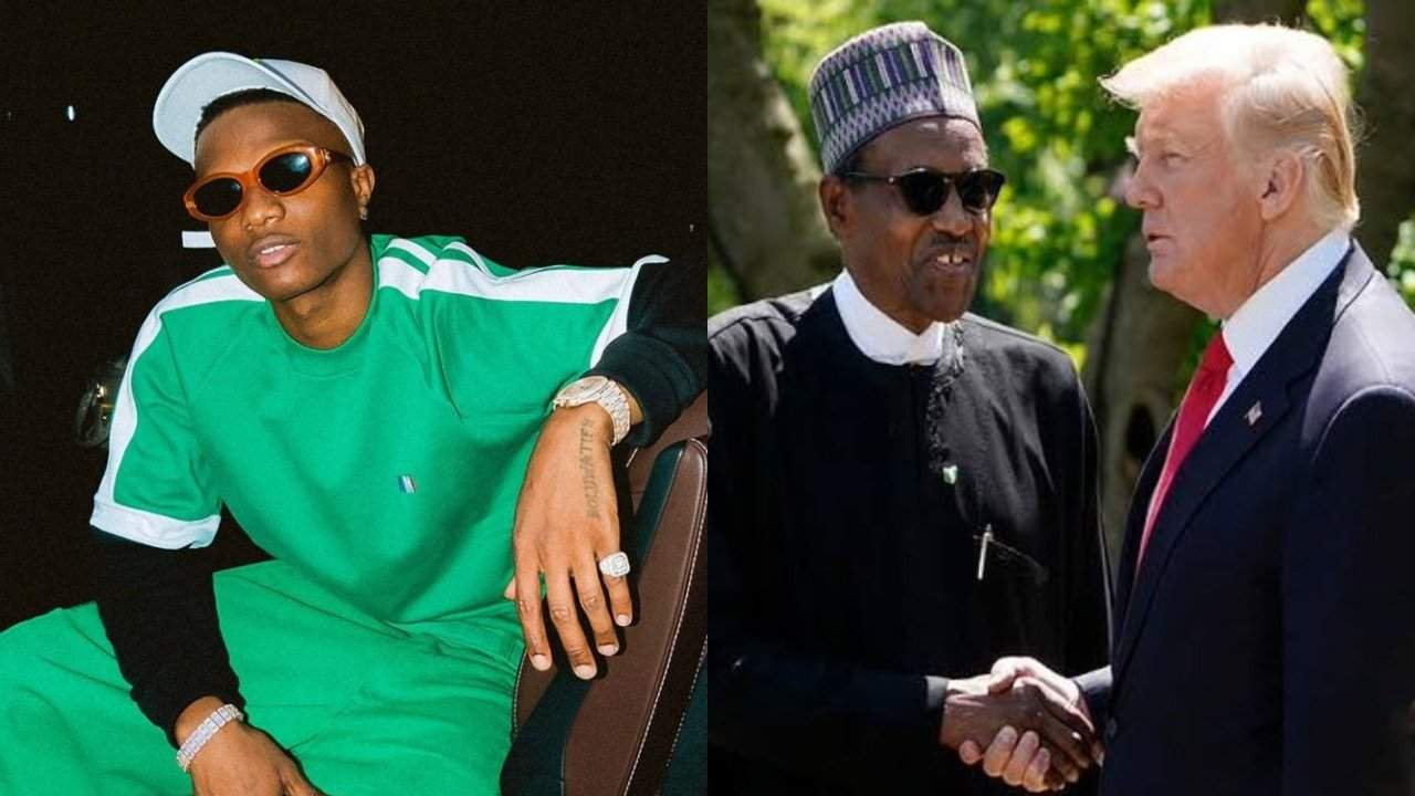 Photo of 'Buhari and Trump are the same person' – Wizkid reveals his discoveries