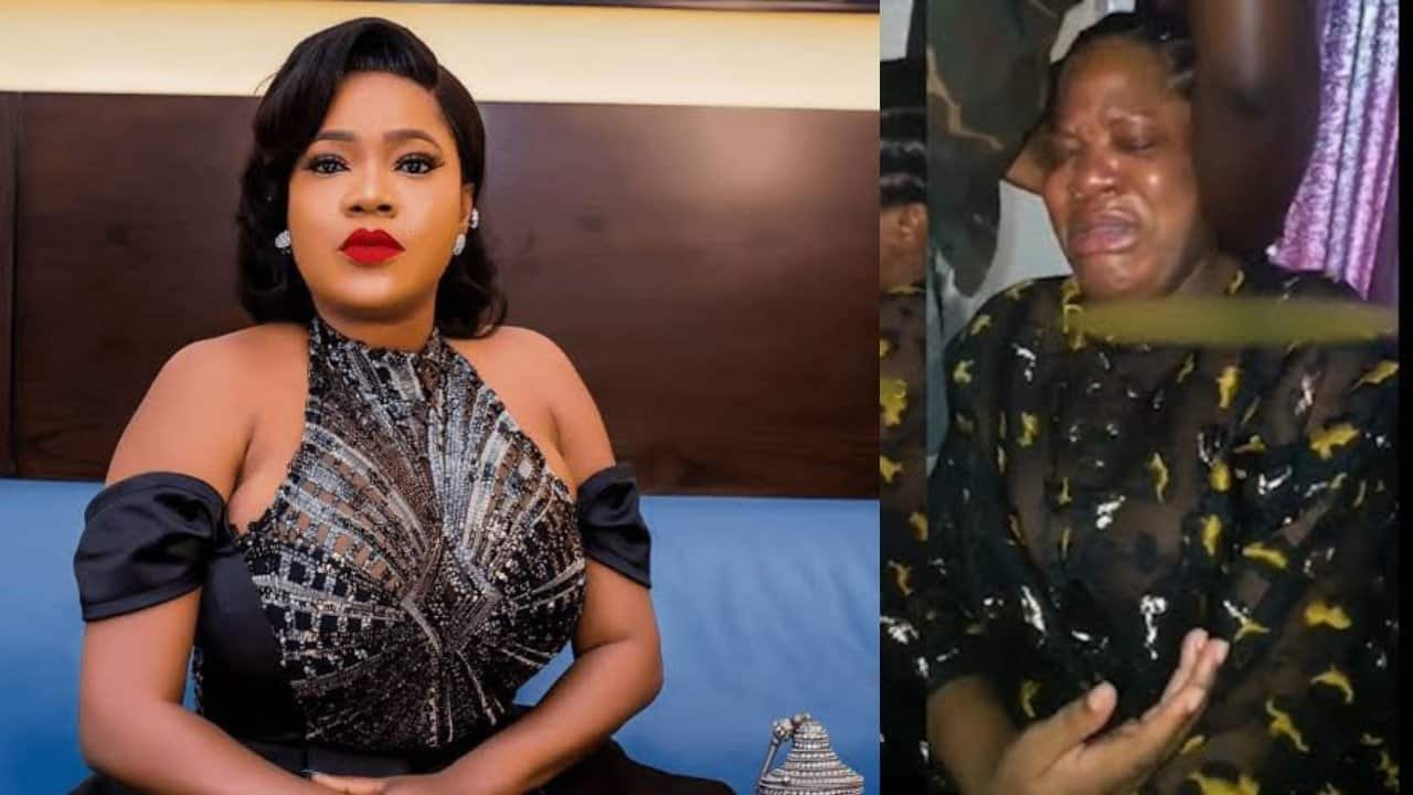 Photo of 'I know the pain, i feel the pain' – Toyin Abraham reacts to raping and killing of 22 year old Uwadia Omozuwa