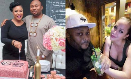 Tonto Dikeh, Churchill and New lover