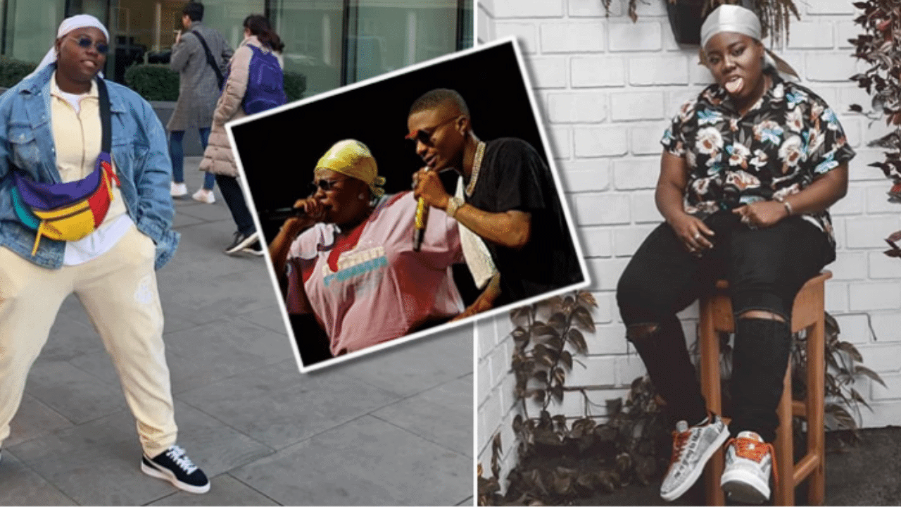 Photo of Teni reveals Wizkid is the 'real owner of her b**bs'