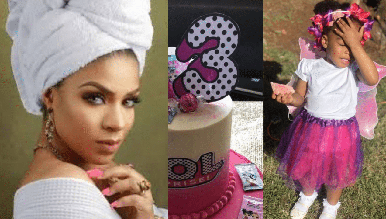 Photo of BBN's Venita Akpofure pens beautiful birthday message for her 3-year-old daughter