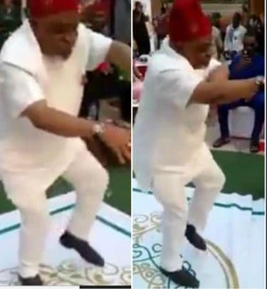 Photo of Chris Ngige unfettered as he dances harmoniously  to Zoro's Music amidst scandal (video)