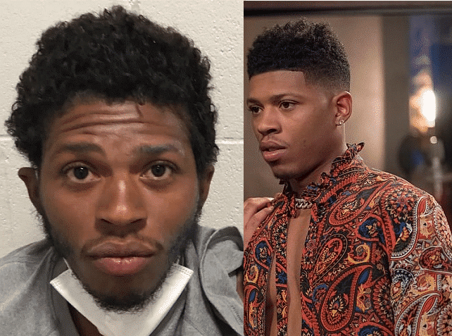 Photo of Empire actor, Bryshere Gray, arrested for assaulting wife