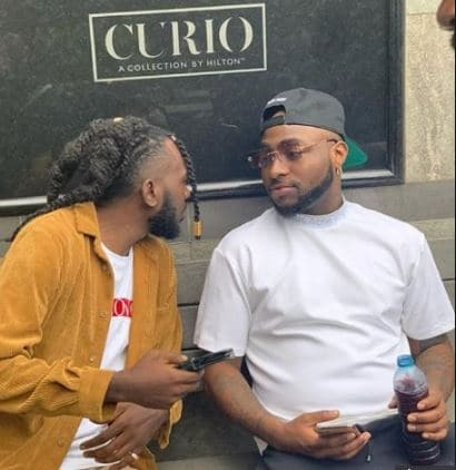 Photo of Nigerians react as Davido signs May D into DMW label (photo)