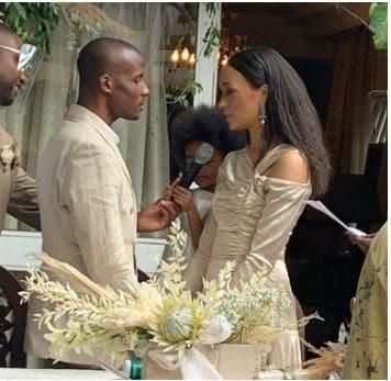 Photo of See beautiful wedding photos of media personality, Eku Edewor's twin sister, Kessiana Thorley