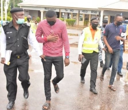 Photo of Tolulope Arotile : Face of suspects as NAF hands over to police