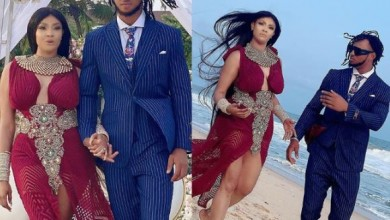 Photo of Nollywood Actress Angela Okorie and fiancé, Chukwudi tie the knot (photos)