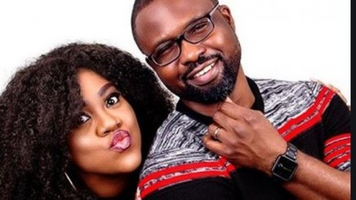 Photo of Nollywood actress, Stella Damasus celebrates her hubby, Daniel Ademinokan on his birthday