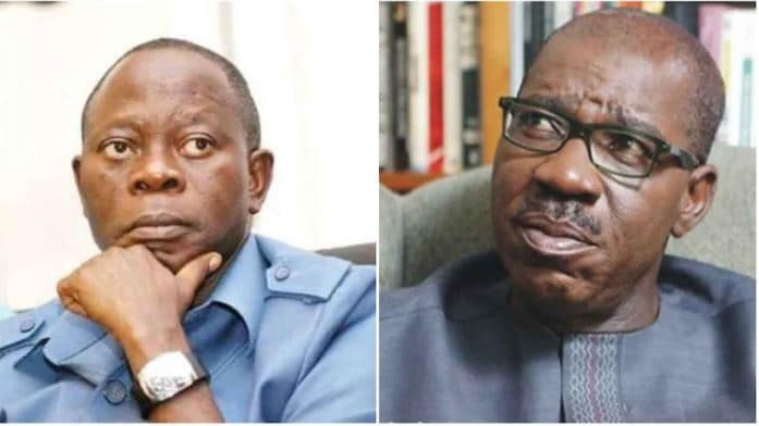 Photo of 'Why Adams Oshiomhole is angry with me' – Governor Godwin Obaseki opens up
