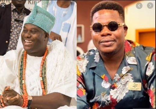 Photo of Reactions as Ooni of Ife features on Comedy skit (VIDEO)