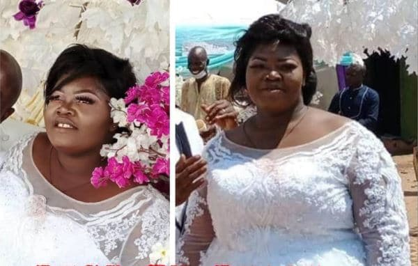 Photo of Tears flow as beautiful Nigerian bride dies a day after her wedding (photo)