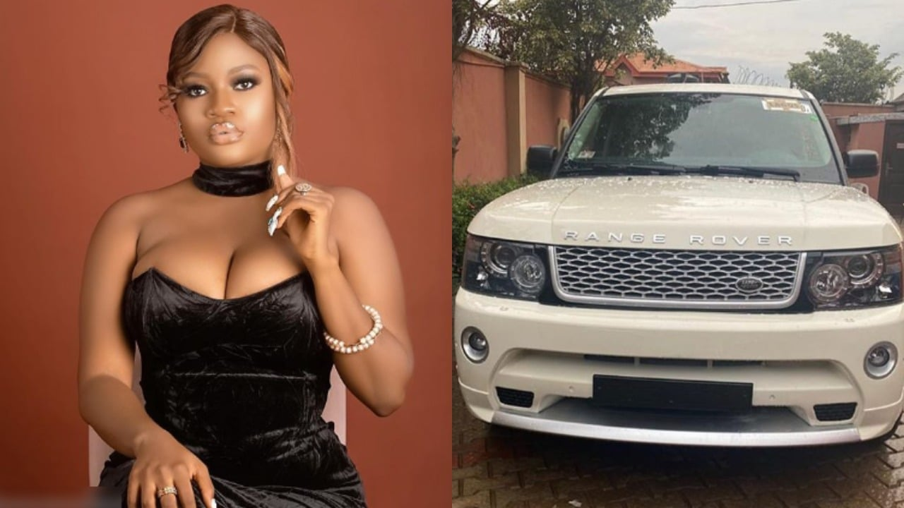 Photo of Nollywood actress, Bewaji becomes the latest Range Rover owner in the Yoruba movie industry| Pictures