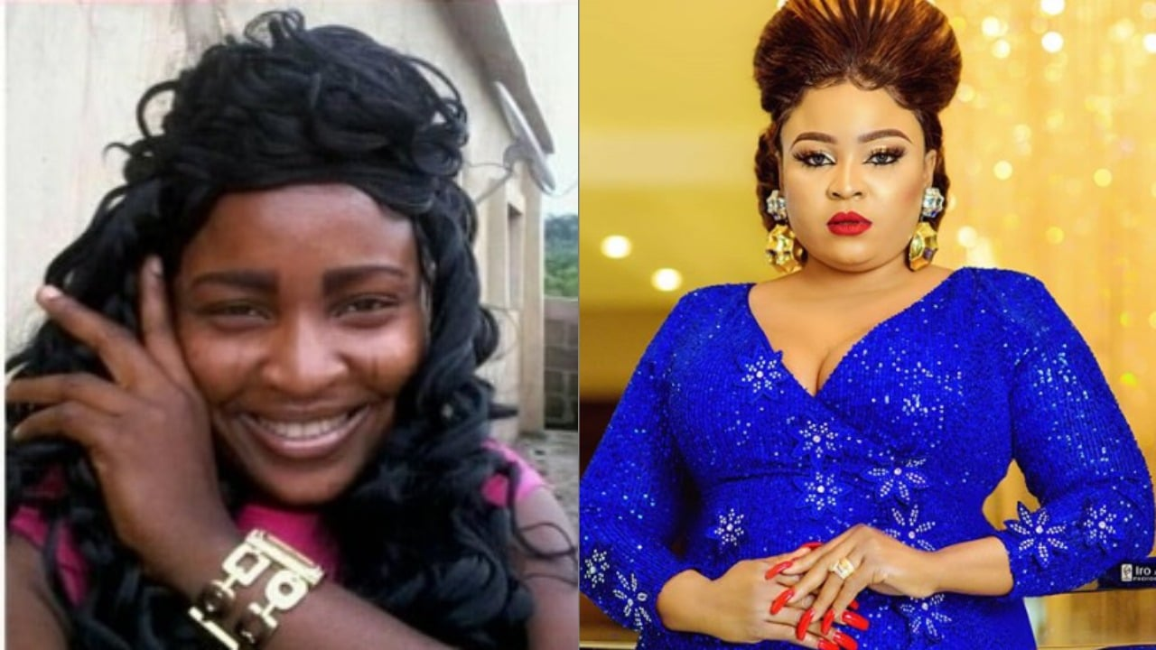 Photo of Actress and bleaching expert, Bimbo Afolayan gives  unbelievable reason why she loves herself so much