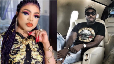 "Photo of ""Real Love"", Nigerians react as Bobrisky shows off his rich lover, Henry Ike"
