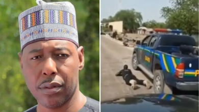 Photo of VIDEO: Borno state Governor, Zulum escapes as Boko Haram attacks his convoy in Borno