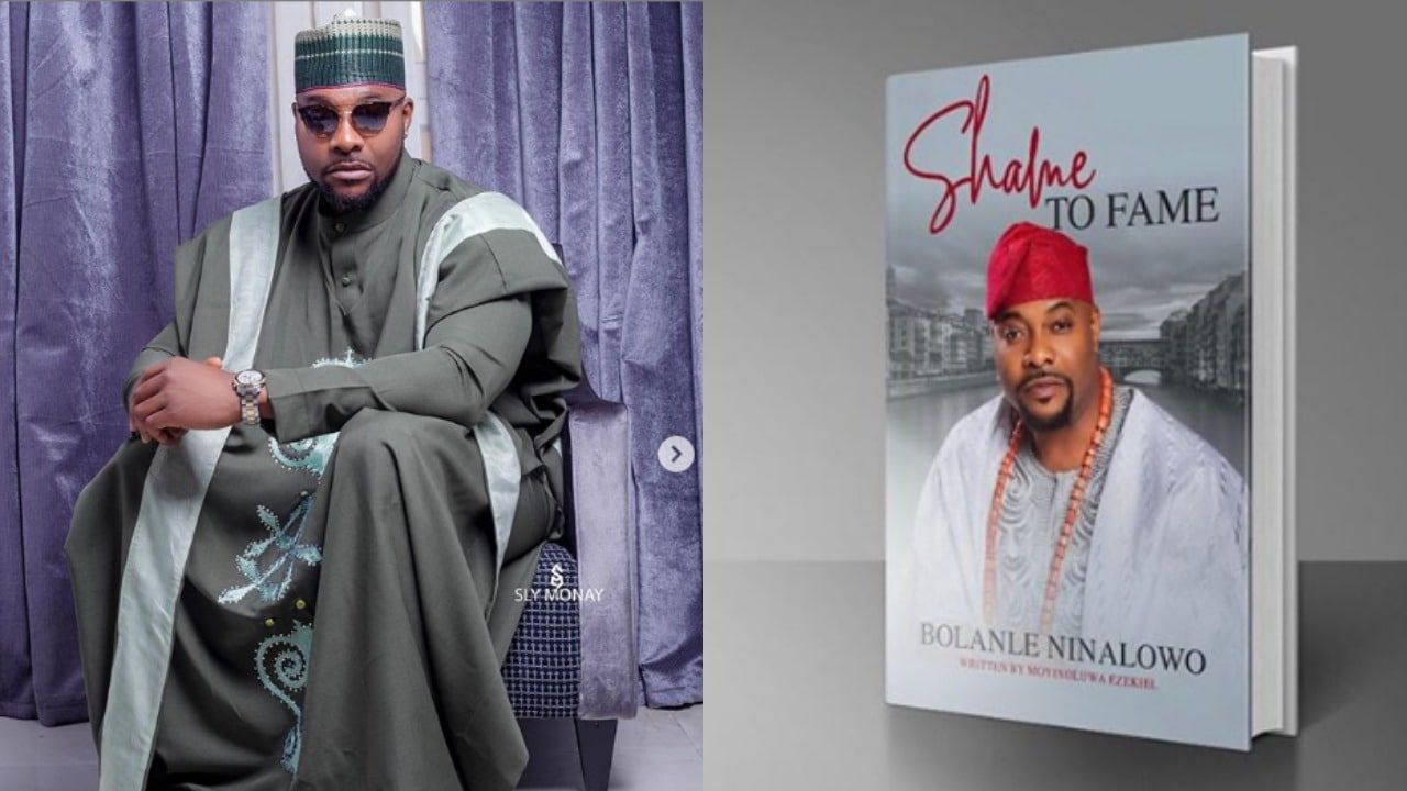 Photo of Nollywood actor, Bolanle Ninalowo becomes an author, set to release his first book