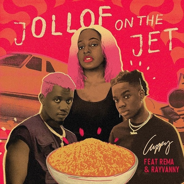 "Photo of Music & Lyrics: Cuppy – ""Jollof On The Jet"" ft. Rema, Rayvanny"
