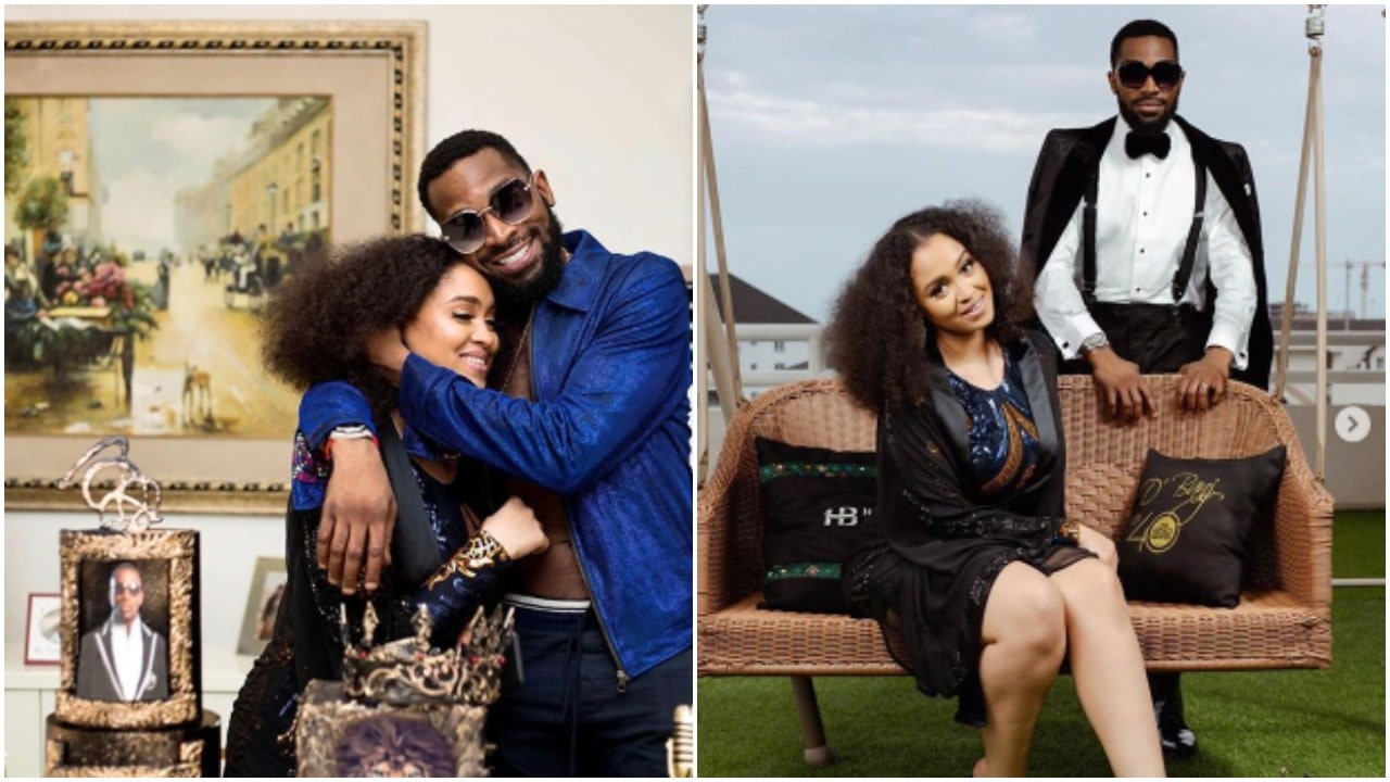 Photo of D'banj marks wedding anniversary with wife amidst rape scandal (photos)