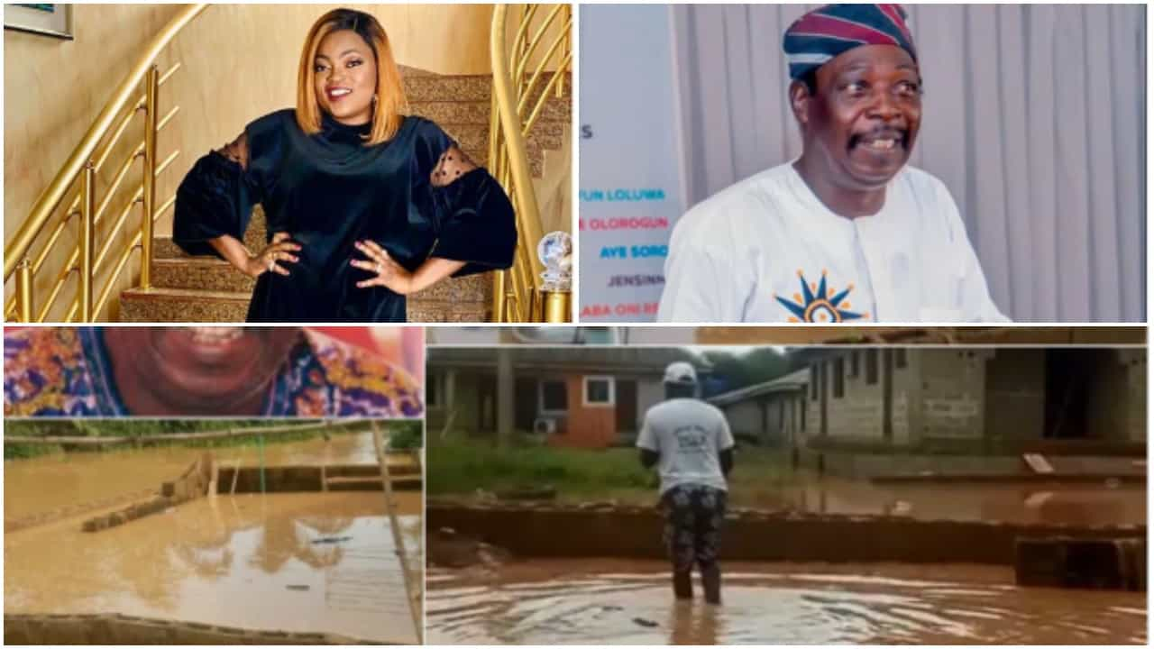 Photo of Funke Akindele did not buy me a house – Pa James Ajirebi cries out, spills the truth