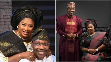"Photo of ""I was constantly mocked for not having a man…"" Lagos big girl, Hon. Fateema Aduke Mohammed weds at 48 (photos)"