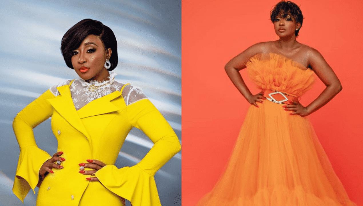 "Photo of ""Stop pressuring us with your beauty"", Actress Queen Nwokoye begs Ini Edo"