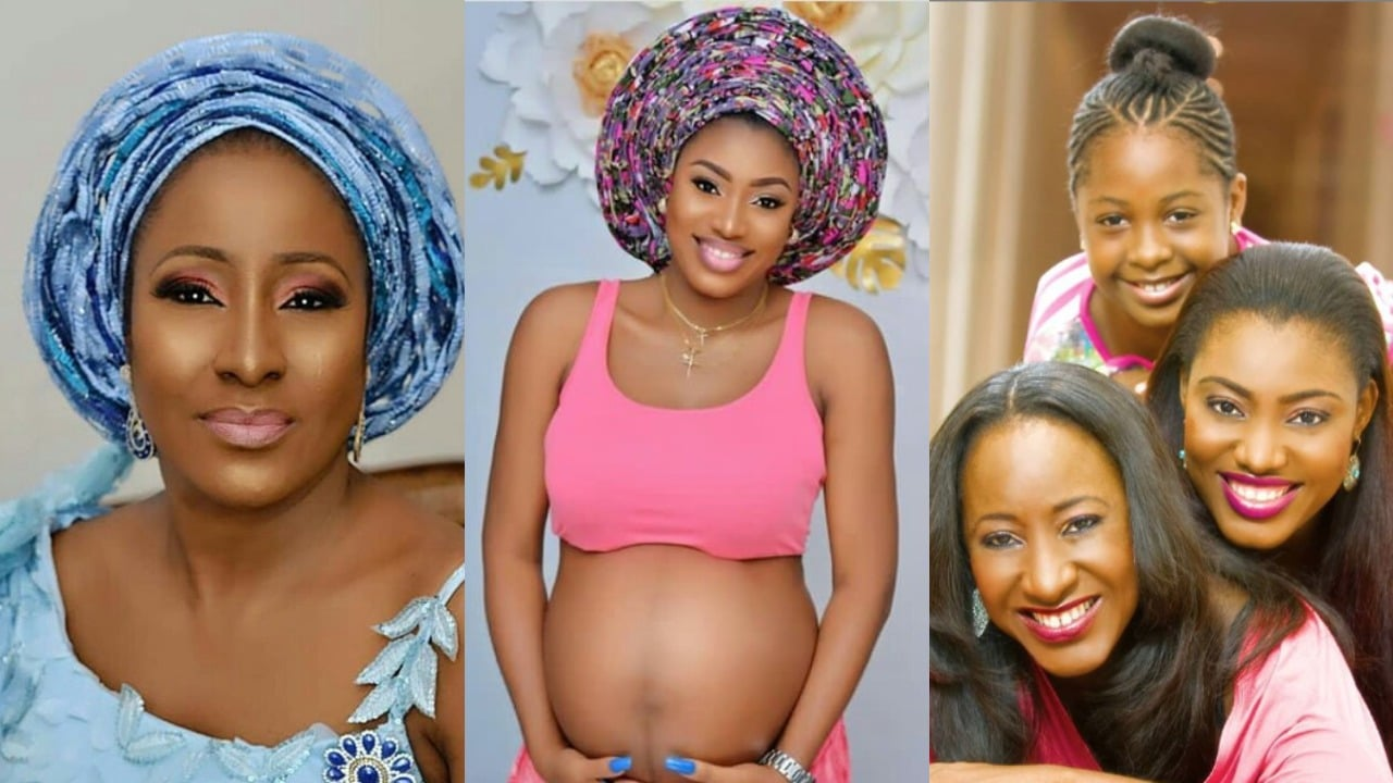 Photo of 'Your grand daughter looks so much like you' – Nigerians tell actress, Ireti Doyle as she shares 3 generation picture