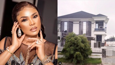 Photo of Toyin Abraham, Mercy Aigbe and other Nollywood celebs react as Iyabo Ojo buys a mighty Mansion in Lagos