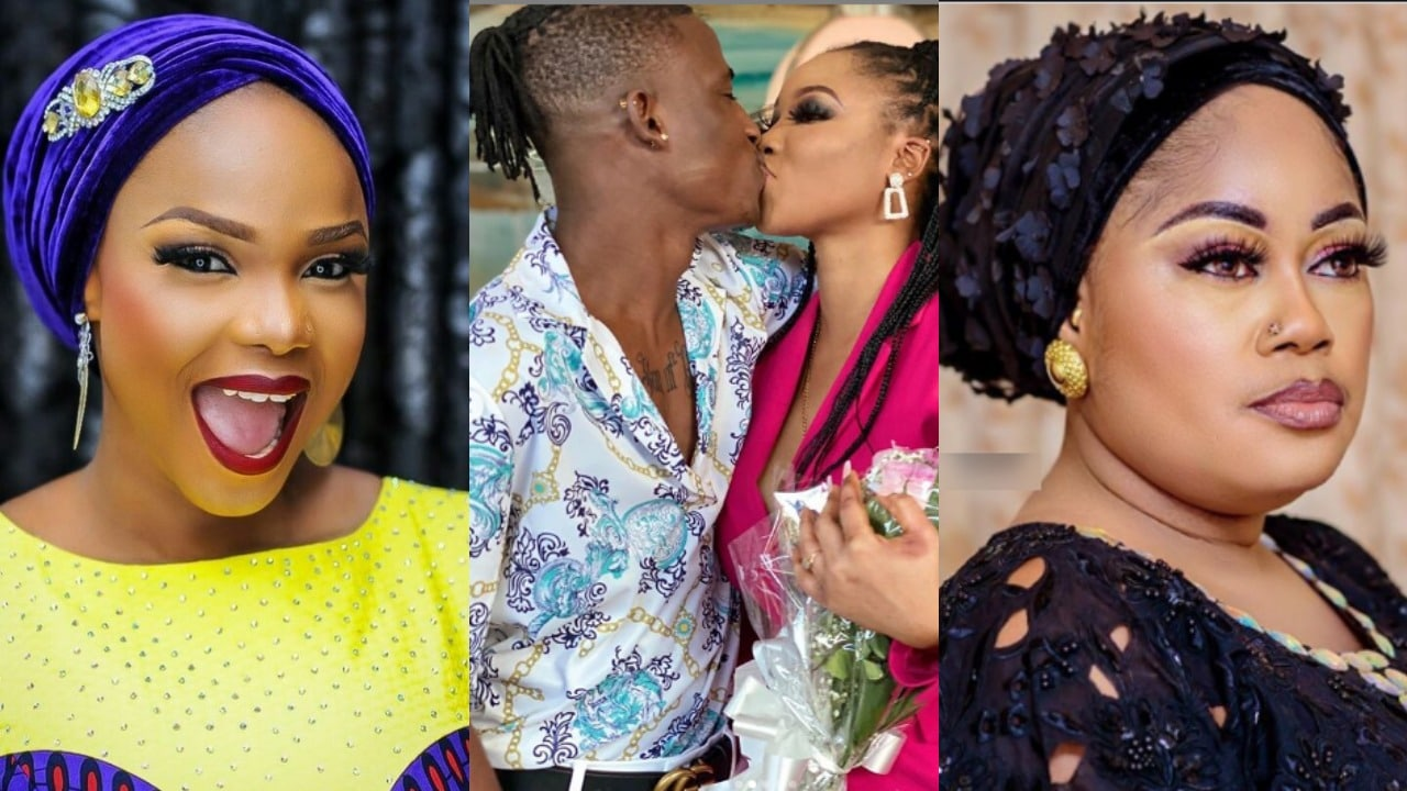 Photo of Iyabo Ojo, Sikira Sindodo and other Nollywood stars congratulate popular actor, Alesh on his engagement   Video