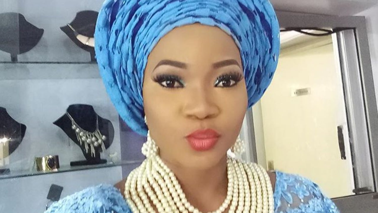 Photo of 'I love my new found love' – Nollywood Actress, Jumoke Odetola says as she reveals her new boyfriend |Picture