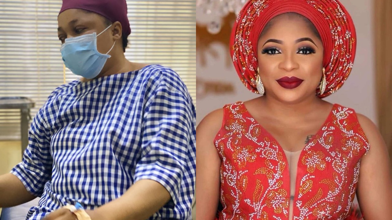 Kemi Afolabi cries out from hospital bed