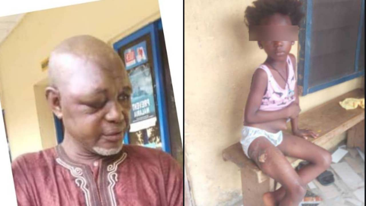 Photo of 70 year old man rapes 8 year old girl, bribes her with N80