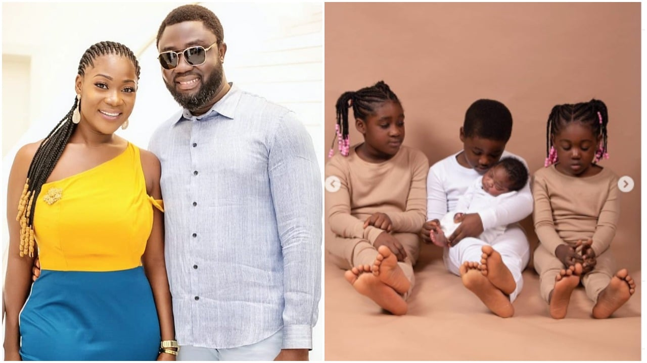 Photo of How Mercy Johnson's son desperately wanted a baby brother